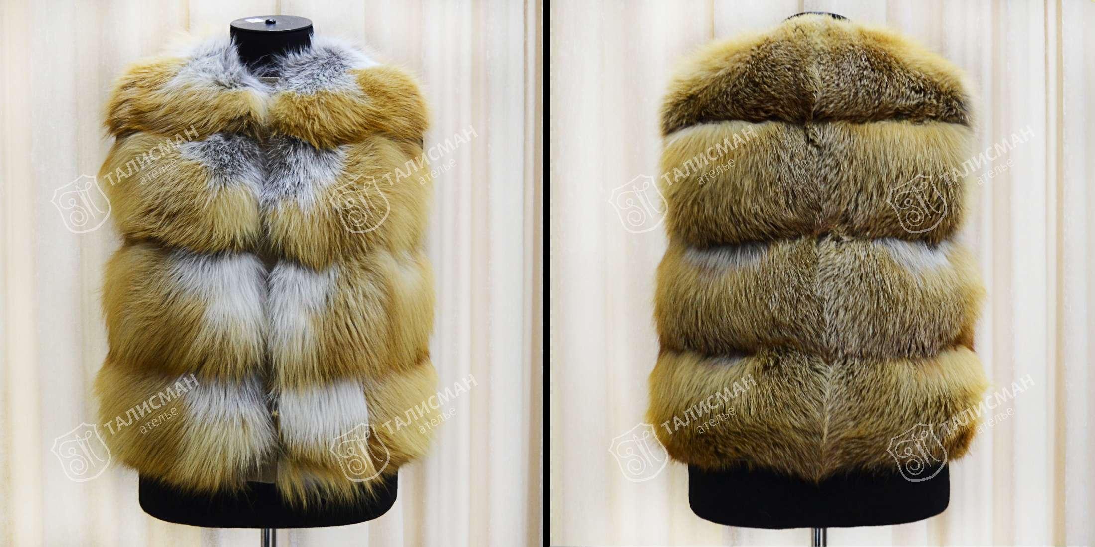 c4838bd64ca Пошив шубы из меха лисы в Москве на заказ  сшить шубу из лисицы в ...